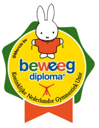 Logo nijntje Beweegdiploma