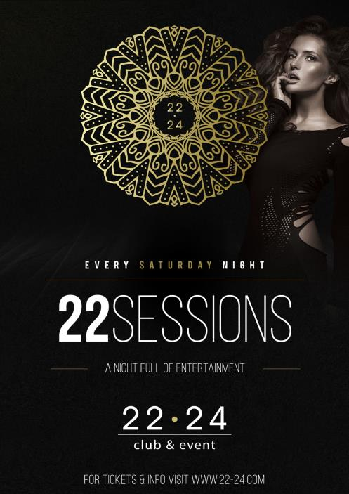 22 sessions