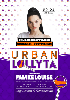 Urban Lollyta X Famke Louise