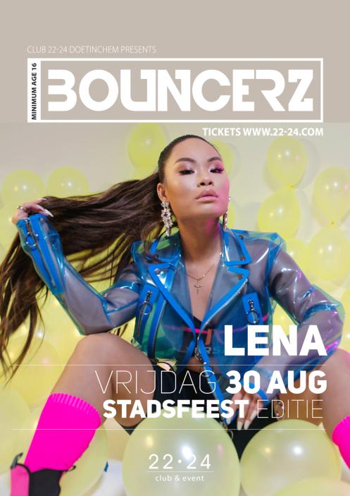 Bouncerz stadsfeest X Lena