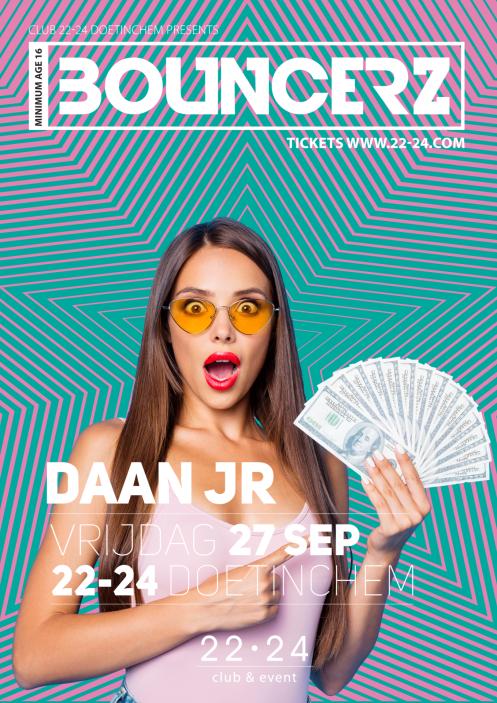 Bouncerz 27 september X Daan Junior
